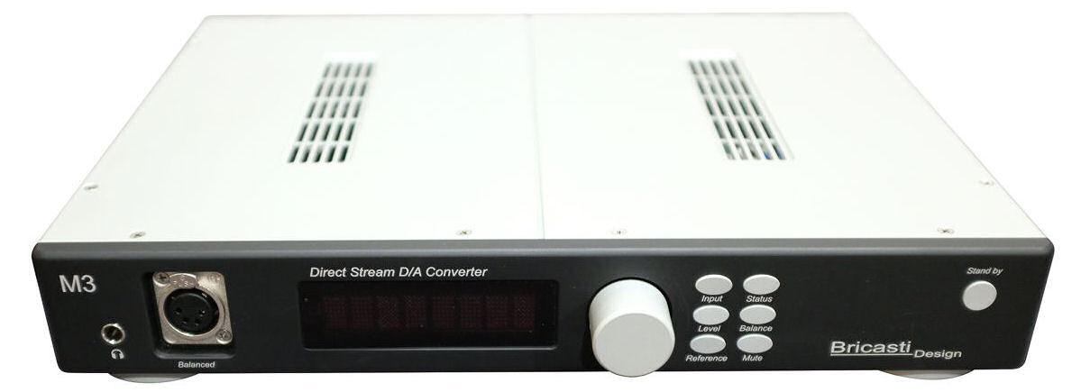 Bricasti Design M3H DAC and Amp