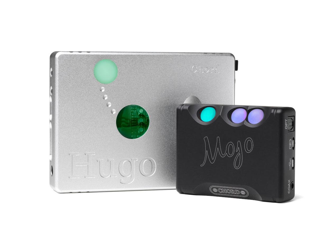 Chord Mojo DAC with Chord Hugo Amp
