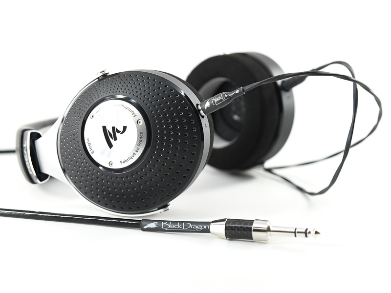 Black Dragon Premium Cable for Focal Elear Headphones V2
