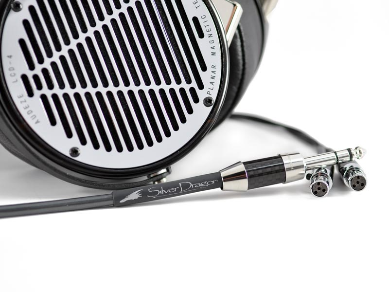 Silver Dragon Premium Cable for Audeze Headphones