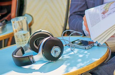 Focal Elegia headphones on table