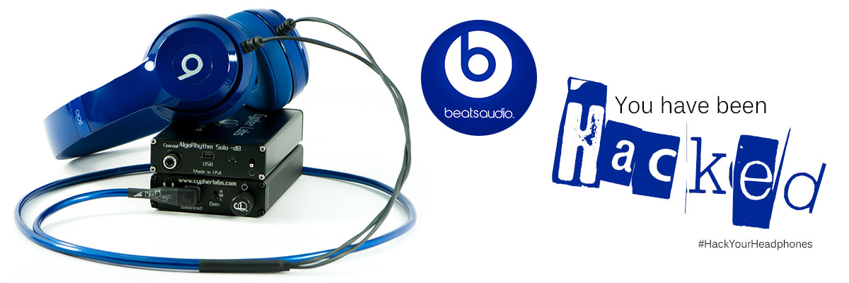 Beats with Blue Dragon Headphone Cable