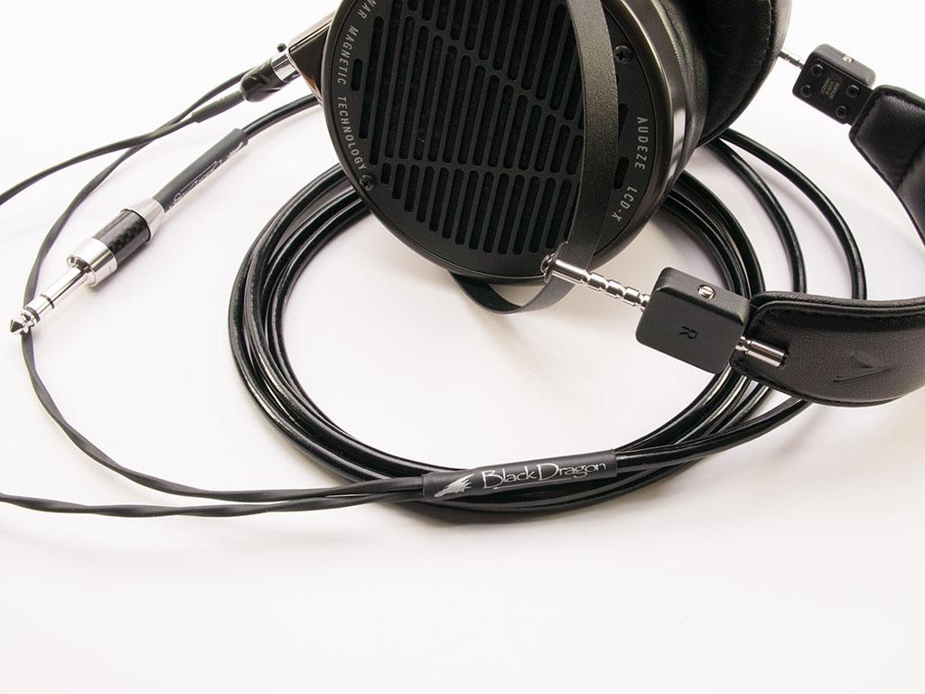 Black Dragon V2 Premium Headphone Cable for Audeze