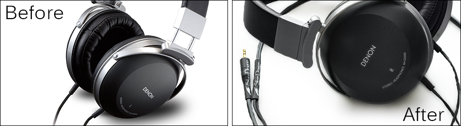 Hack Your Denon Headphones