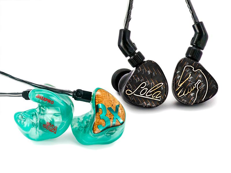 Custom and Universal in-ear monitors