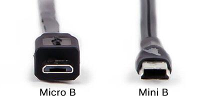 Micro vs Mini B USB