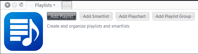JRiver Playlists