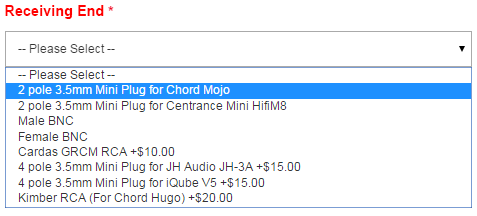 Chord Mojo Receiving End
