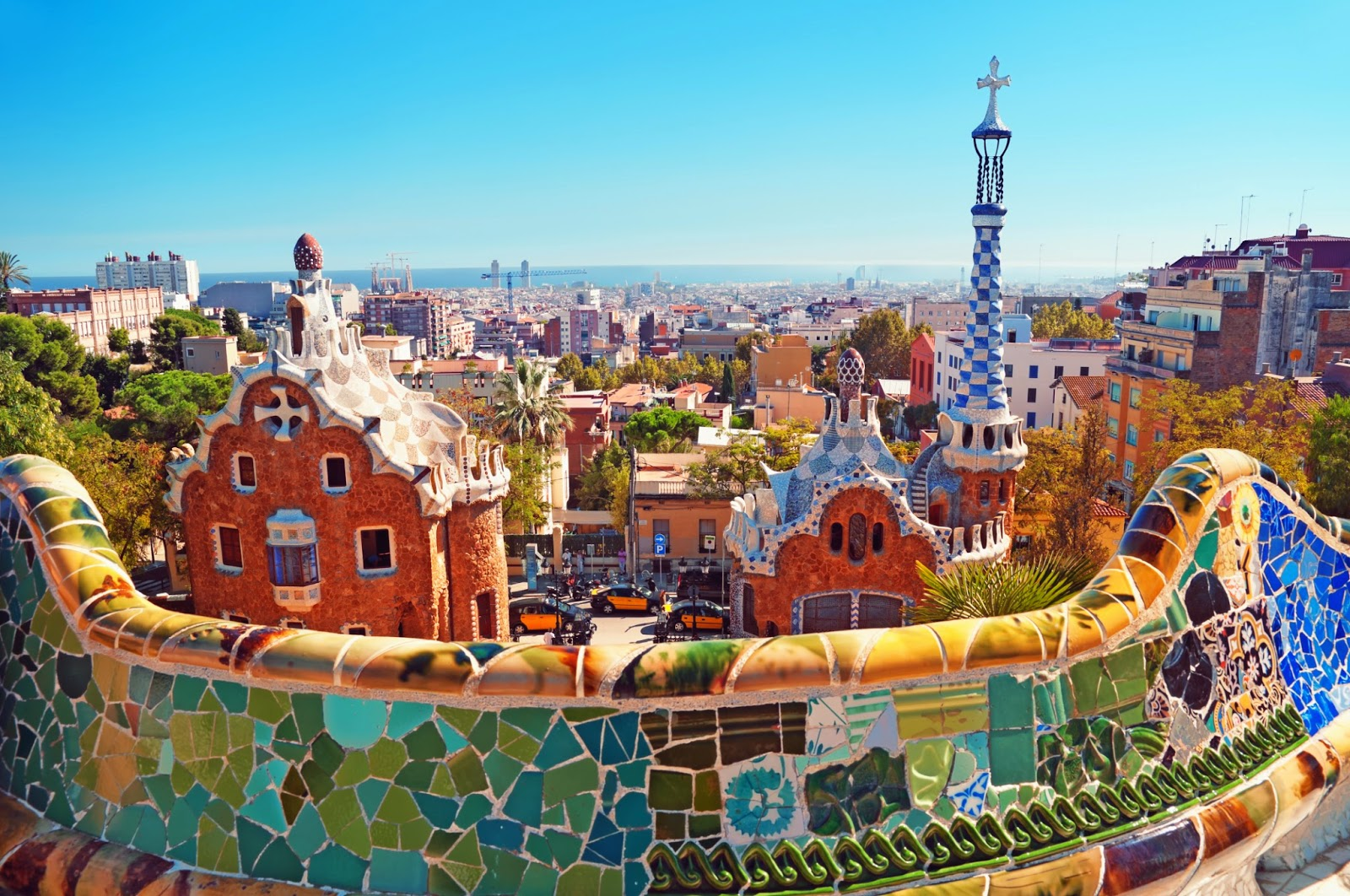 Image Parc Guell Barcelona