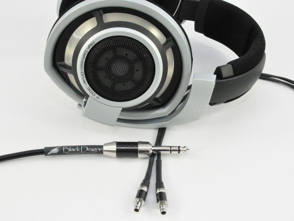 Black Dragon V2 Premium HD800 Headphone Cable