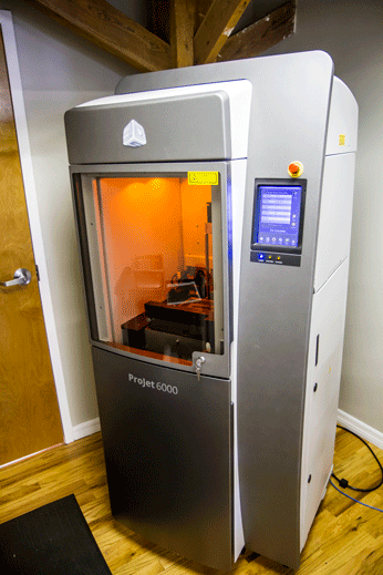JH Audio 3-D Printer