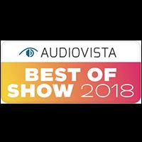 AudioVista 2018 Best of Show Award