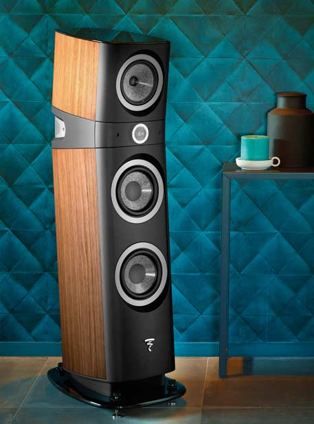 Focal Sopra No3 Speaker in living area