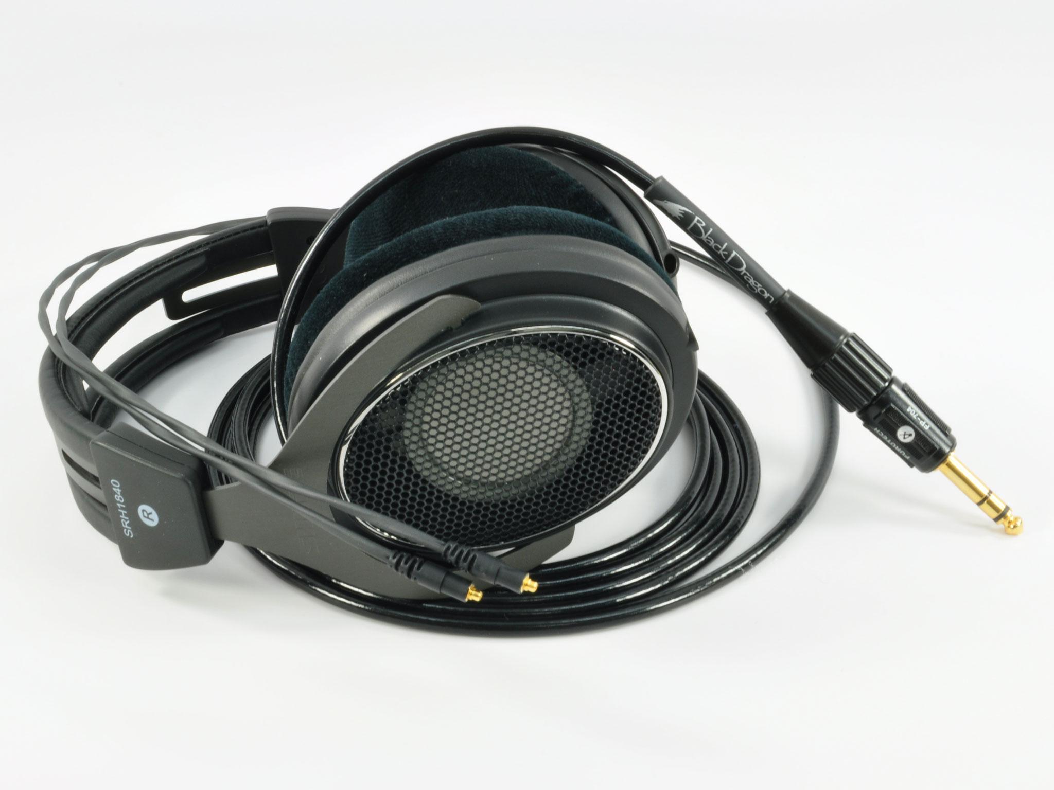Black Dragon V2 Shure Headphone Cable