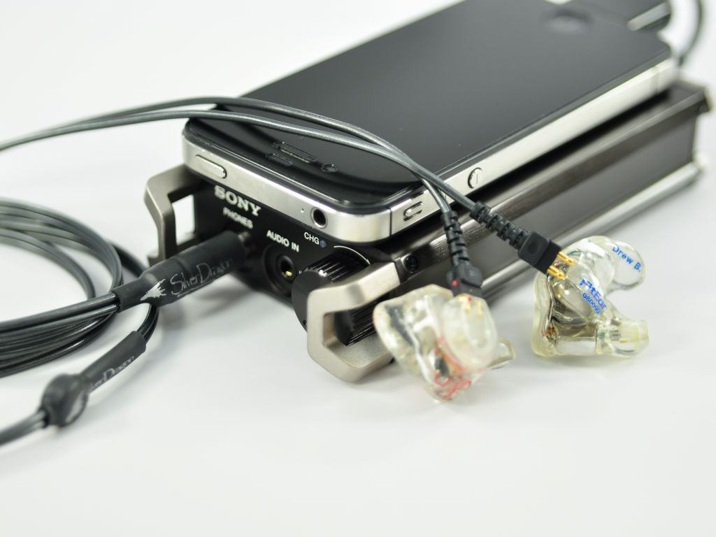 Silver Dragon V1 IEM FitEar Headphone Cable