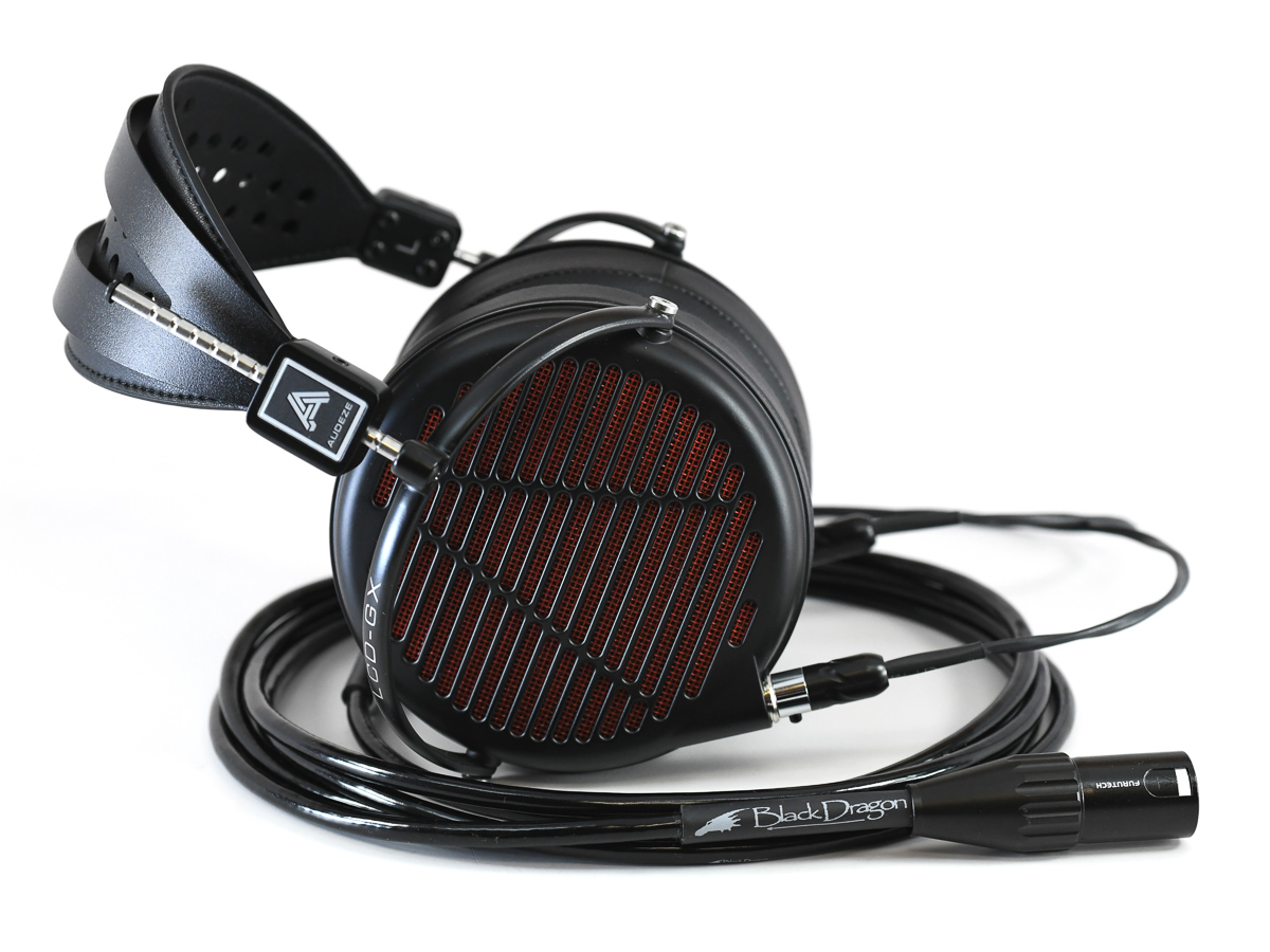 LCD-GX headphone with Black Dragon Premium Cable