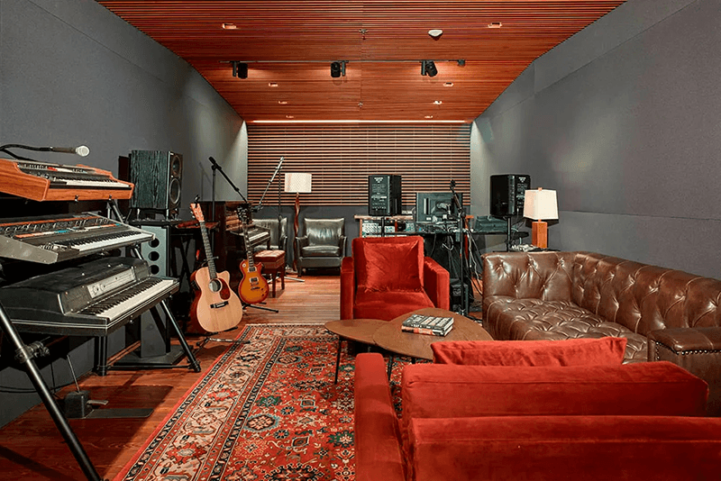Atlantic Records studio space