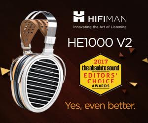 TAS HiFiMan HE1000 V2 Award