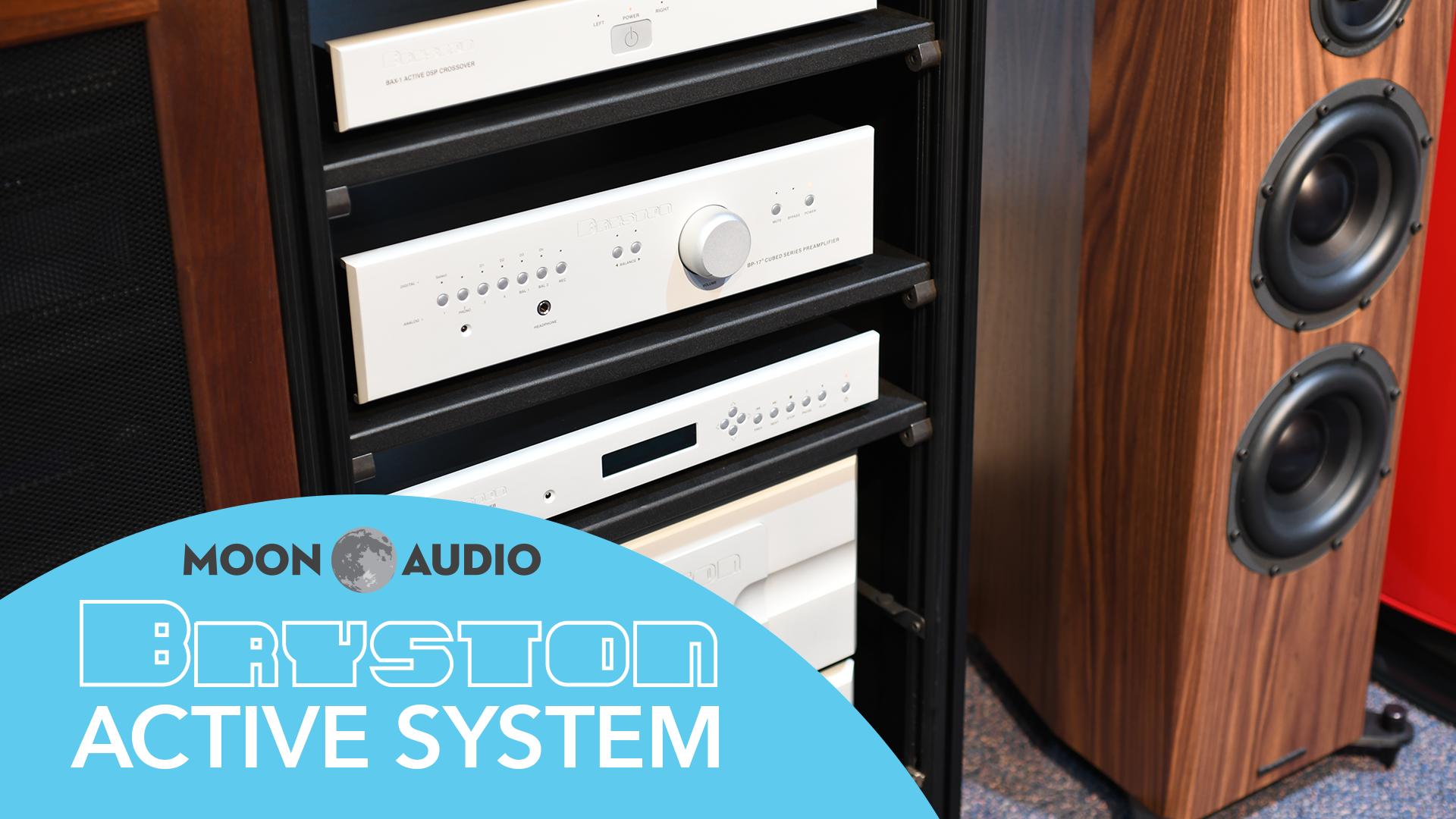 Bryston Active Speaker System video