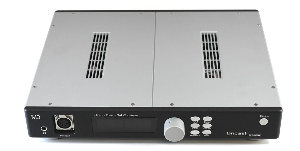 Bricasti M3H DAC+AMP - front and top