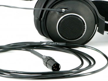 Black Dragon Premium Cable for EnigmAcoustics Dharma Headphones V2