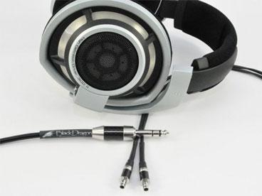 Black Dragon Premium Cable for Sennheiser HD800 Headphones V2