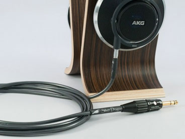 Silver Dragon Cable for AKG Headphones V3