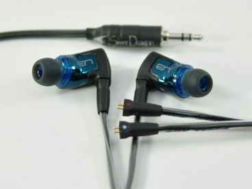 Silver Dragon Cable for Ultimate Ears Triple Fi Universal IEMs V1