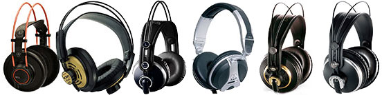 AKG Pro Headphones
