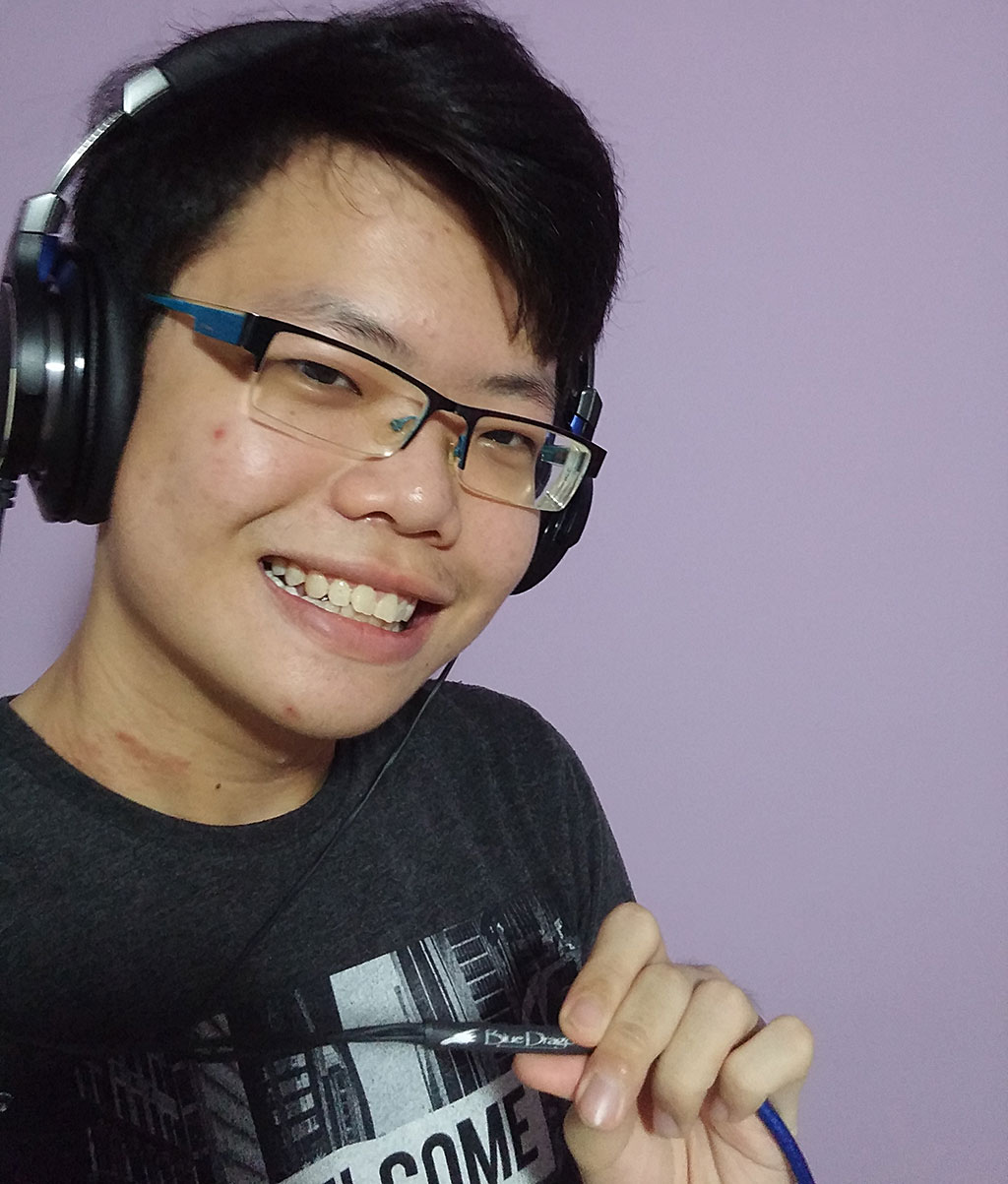 Hack Headphones Winner Jared Sum