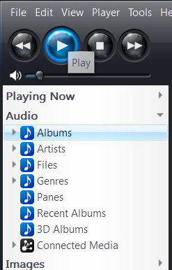Windows Jriver view options