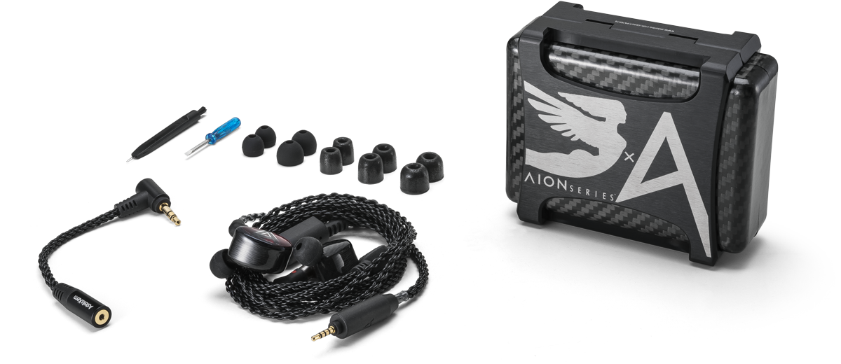 Astell n Kern Layla AION IEMs with accessories