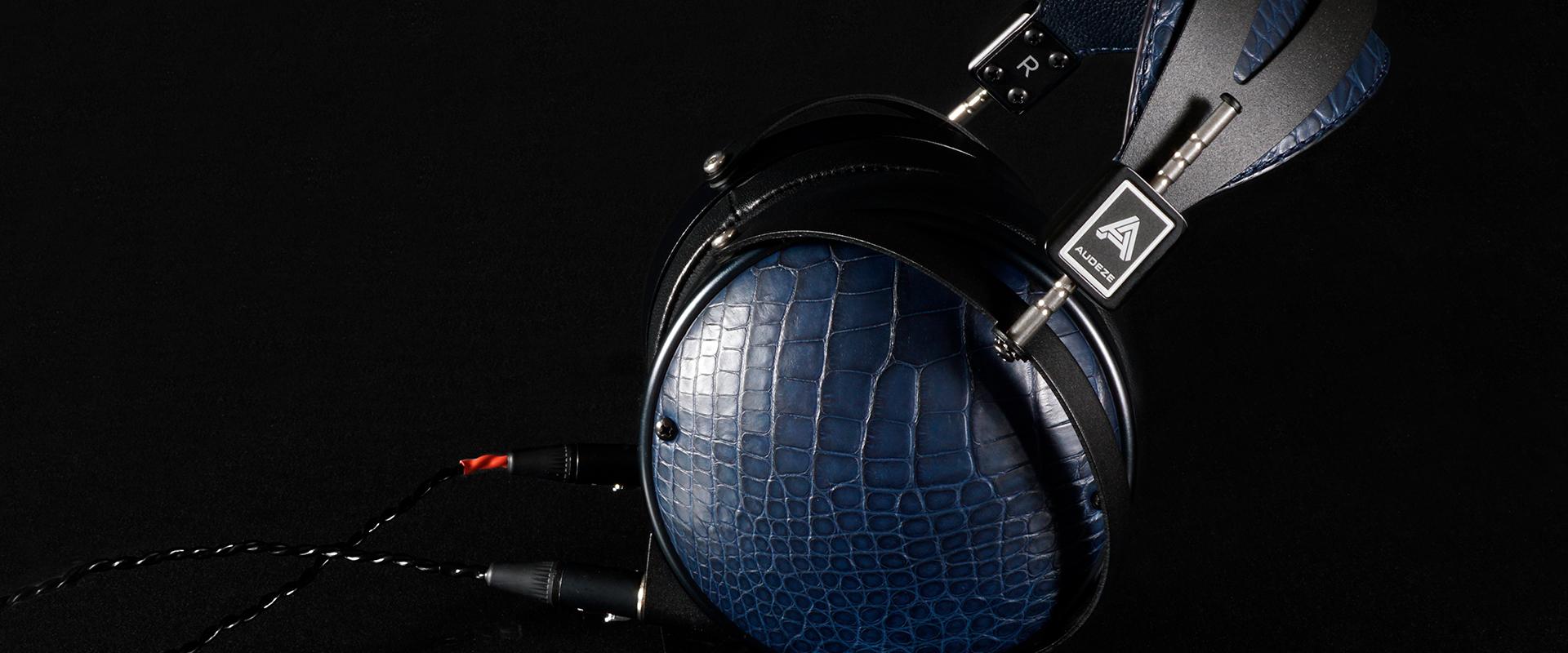 Audeze LCD-XC Limited Edition Alligator headphones