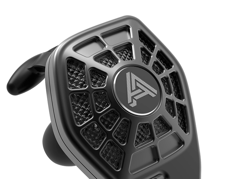 Audeze iSINE10 earphone shell detail