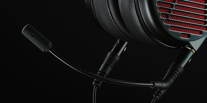 Audeze LCD-GX microphone detail