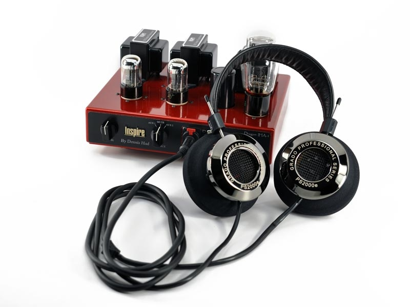 Grado PS2000e Headphones + Dragon Inspire IHA-1 Tube Headphone Amp