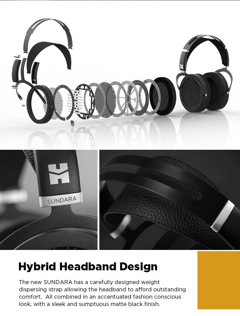 Hifiman Sundara headband design details