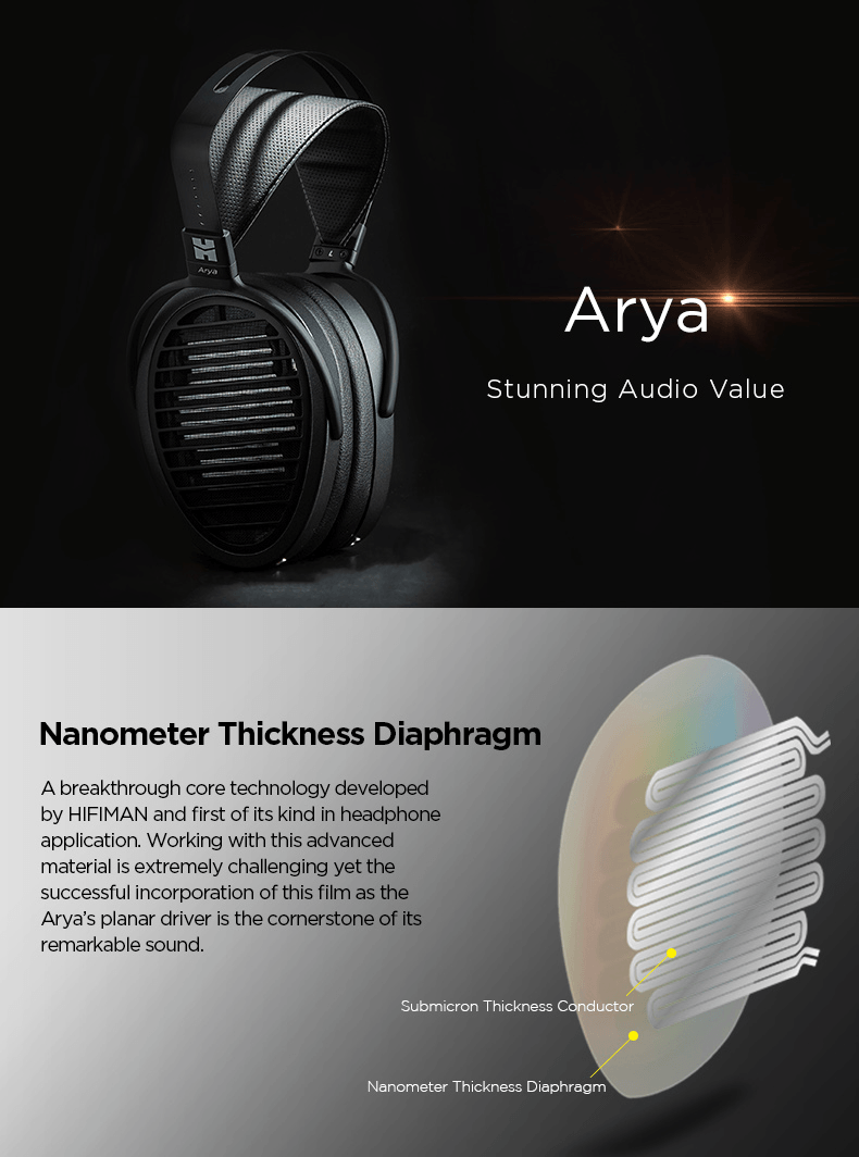 Hifiman Arya features and specifications