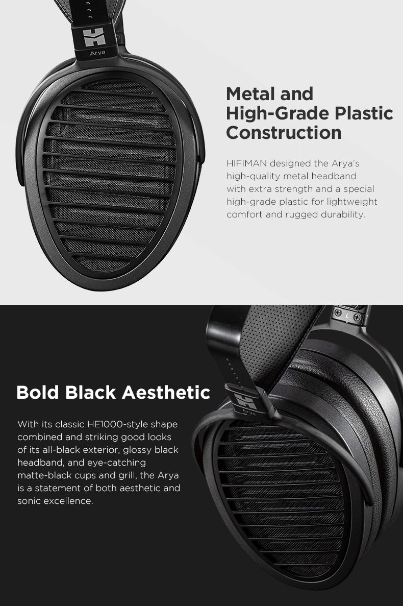 Hifiman Arya features and specifications continued