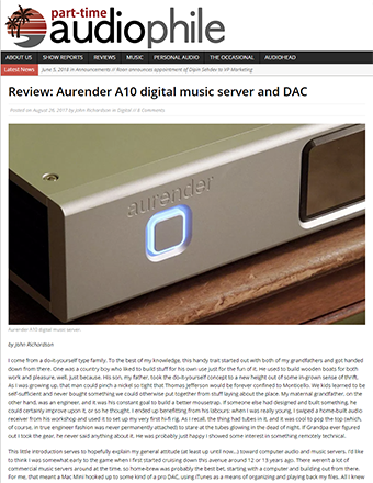 Part-Time Audiophile Review