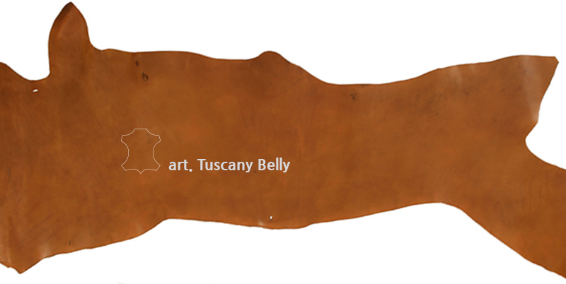 Tuscany Belly Leather