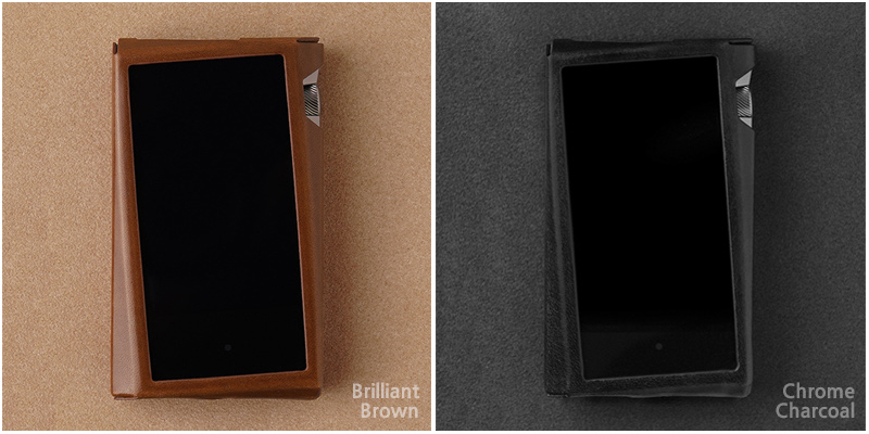 Dignis Coque case in Brilliant Brown and Chrome Charcoal