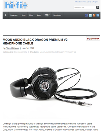 Absolute Sound Review: Black Dragon Cable