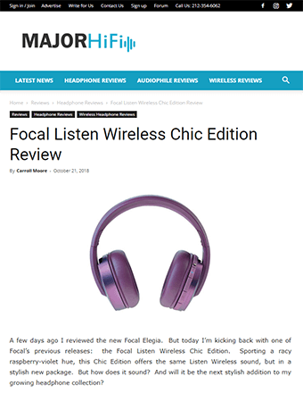 Major HiFi Review