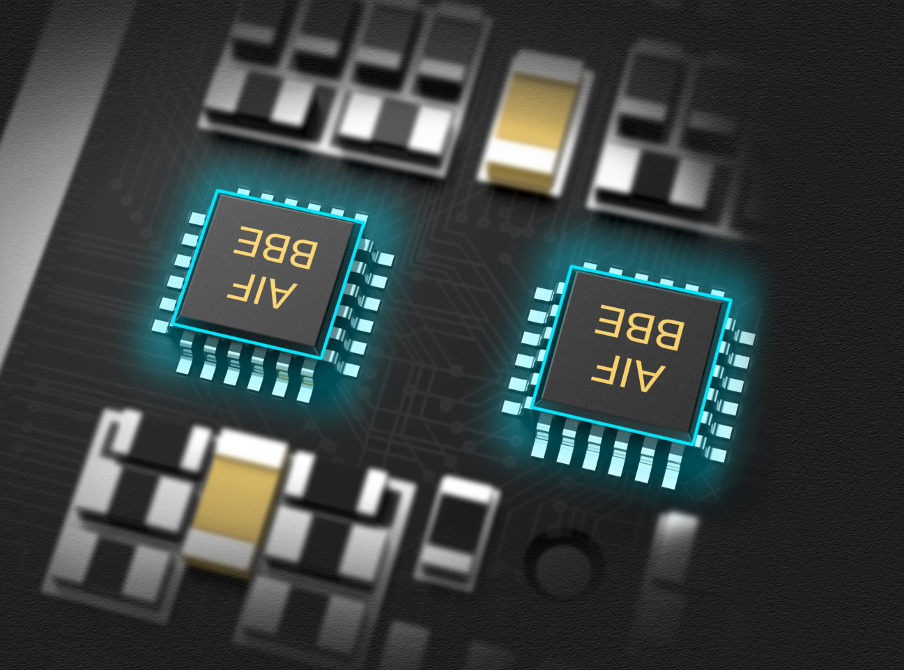dual dac chip illustration