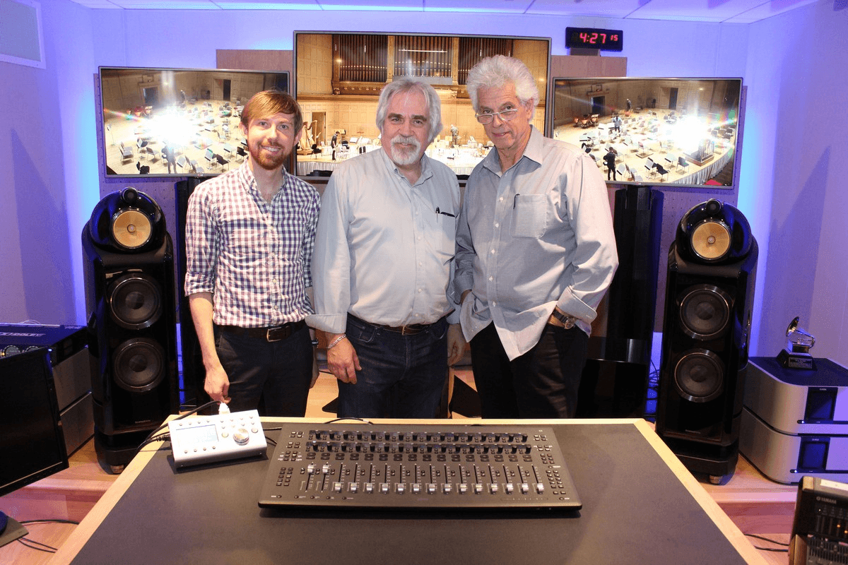 Nick Squire, Dave Morrison, and John Storyk of BSO
