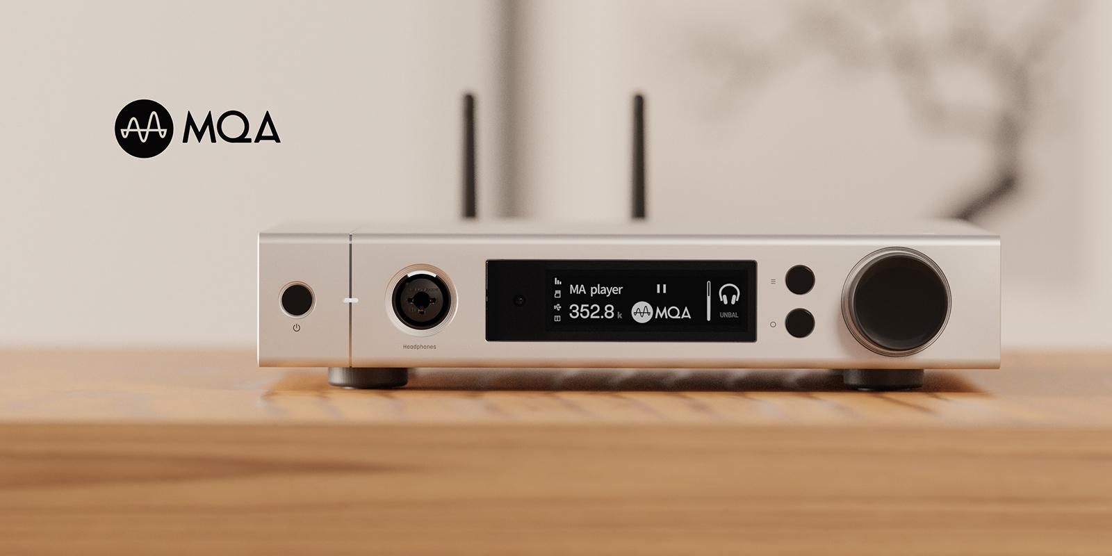 Matrix Audio element M streamer with MQA technology