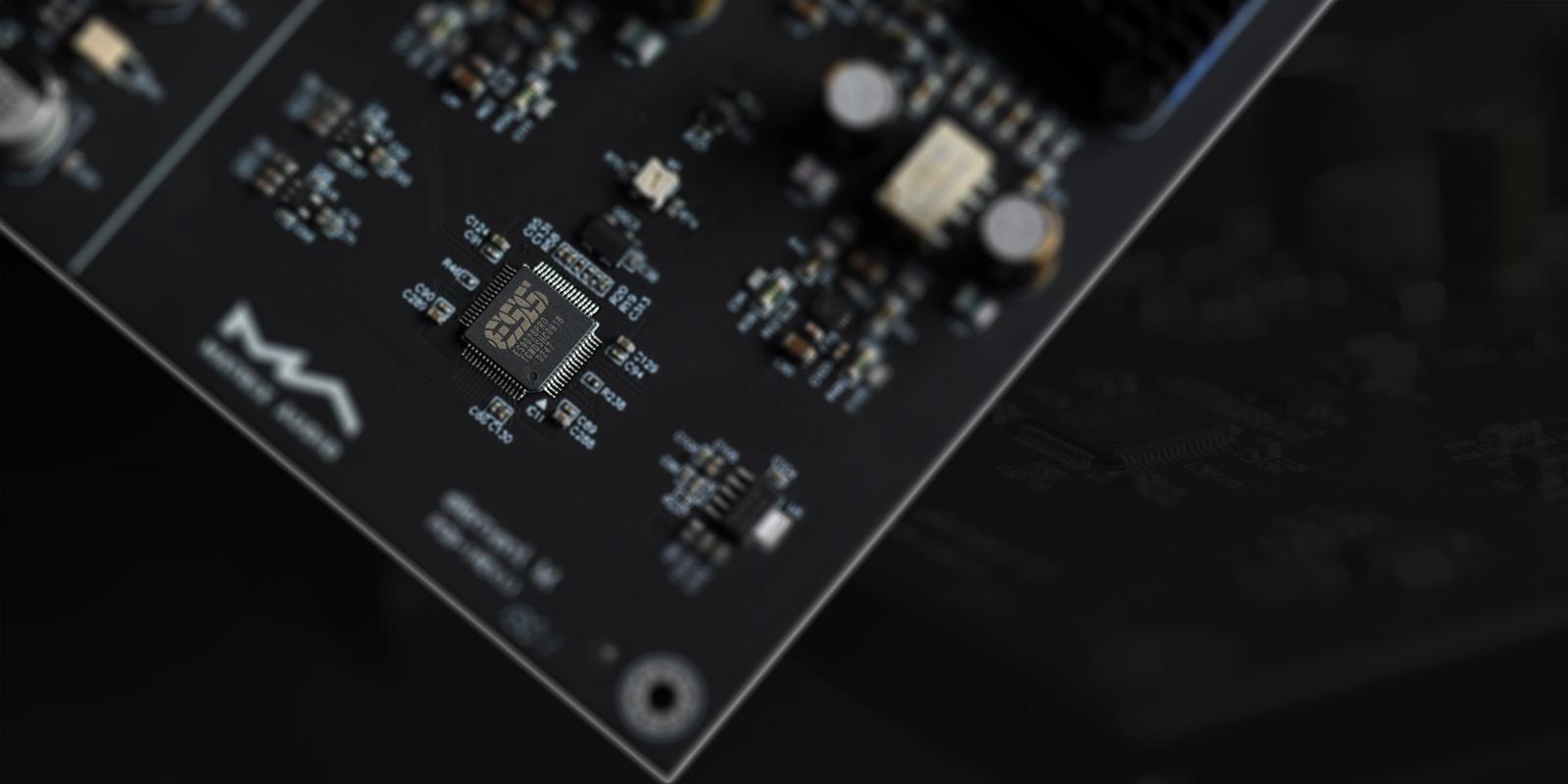 Matrix Audio element M streamer circuit board