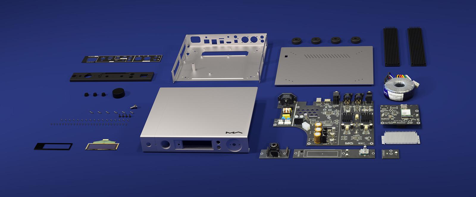 Matrix Audio element M streamer deconstructed