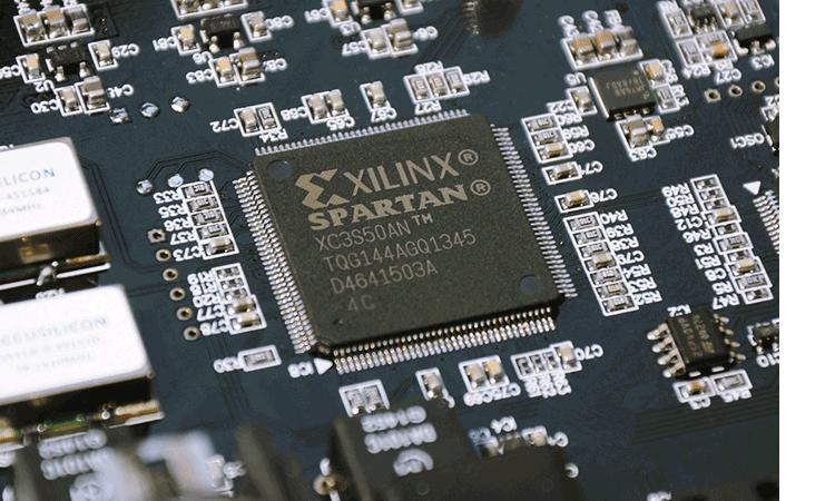 XILINX SPARTAN processing chip